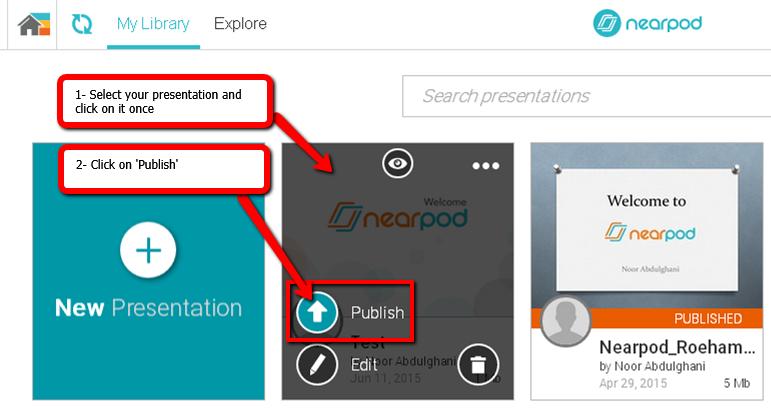 Publish_Nearpod_presentation