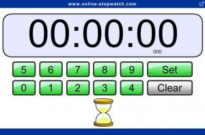 Set online egg-timer screenshot