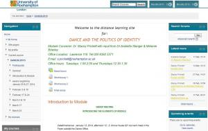 Dance and the Politics of Identity_DAN020LD51S Module-site-homepage