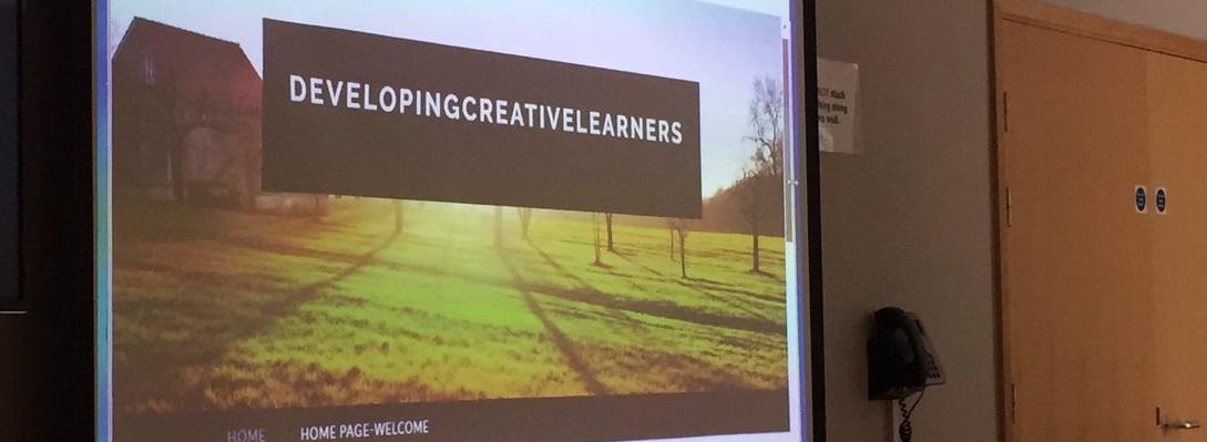 DevelopingCreativeLearners screen banner